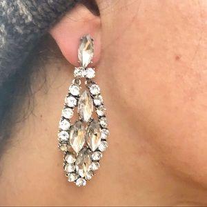 Jewelry - NEW STUD EARRINGS, CRYSTAL STATEMENT DROPS